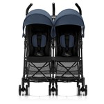 Britax Holiday Double Syskonvagn Navy Blue