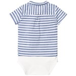 ebbe Kids Fridolf Baby Body Skjorta Navy Stripes