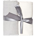Buddy & Hope Muslin Blanket 2-p Grey
