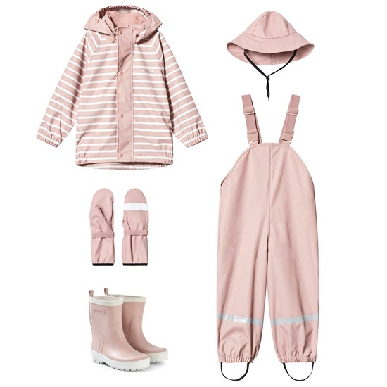 Kuling Kuling Regnställ Cambridge + Stövlar Coventry + Accessories Spring Woody Rose