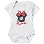 Disney Minnie Mouse Minnie Mouse Ss Baby Body Light Grey Melange