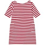 Emma och Malena Nova Dress Stripe Linen Blend Raspberry