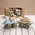 Dantoy BIOplastic train set in giftbox