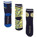 LEGO Wear Ninjago 3 Pack Socks Dark Navy