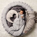 Buddy & Hope Knitted blanket Grey