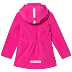 Ticket To Heaven Miranda Softshell Coat Raspberry Rose
