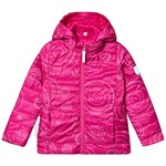 Ticket To Heaven Comerzo Reversible Lightweight Padding Jacket Raspberry Rose