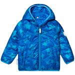 Ticket To Heaven Capella Reversible Lightweight Padding Jacket Blue Aster