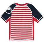 Didriksons Surf Kids Ss Uv Top Chili Red