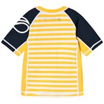Didriksons Surf Kids Ss Uv Top Yellow