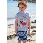 Frugi Navy Stripe Shorts
