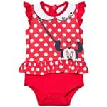 Disney Minnie Mouse Minnie Body Set Layette Baby Red