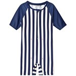 ebbe Kids Tage Beachsuit Classic Navy Stripe