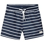 ebbe Kids Haspen Swim Shorts Classic Navy Stripe