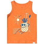 Gap Graphic Tank Heatwave Orange