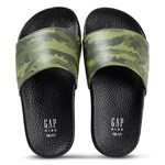 Gap B Swim Slide Green Camo