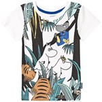 Muumit Mumin Safari Tshirt White