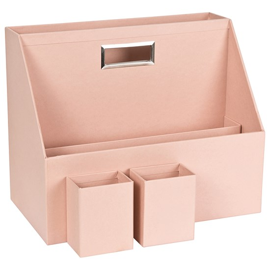 Bigso Box of Sweden Hurry portable organizer Pink
