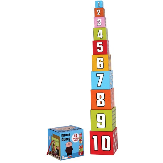 Barbo Toys Alfons Åberg Stacking Cubes