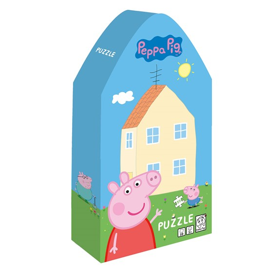 Barbo Toys Peppa Pig Kids Puzzle House