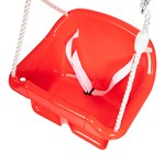 Oliver & Kids Baby Swing Red