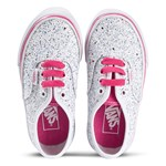 Vans Pink Glitter Stars Authentic Kids Shoes