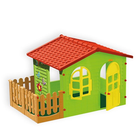 Elite Toys Garden House XL with Fence