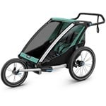 Thule Chariot Lite 2 Double Multisport and Bikestroller Bluegrass