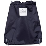 Joules Navy Rex Reflective Active Drawstring Bag