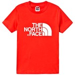 The North Face Red Branded Easy T-shirt