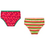 Pippi Långstrump Pippi Panties 2 pack Red