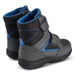 Geox Black Kuray Amphibiox Waterproof Double Velcro Boots