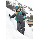 Bergans Lilletind Insulated Kids Coverall Solid Charcoal