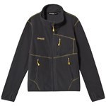 Bergans Runde Youth Jacket Solid Charcoal Yellow