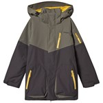 Bergans Knyken Insulated Youth Jacket Green Mud