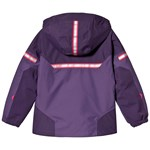 Bergans Ruffen Insulated Kids Jacket Lt Viola Raspberry