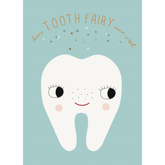 OYOY Tooth Fairy poster