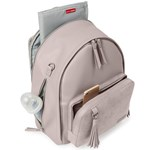 Skip Hop Greenwich Backpack Portobello Suede