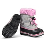 Sorel Childrens Yoot Pac Nylon Chrome Grey Orchid