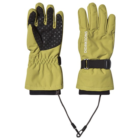 Didriksons Biggles Gloves Seagrass Green