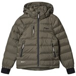 Bergans Down Youth Jacket GreenMud Solid Charcoal