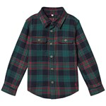 Joules Navy Multi Check Hamish Shirt