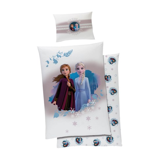 Disney Frozen Disney Frozen Påslakanset  150 x 210 cm Believe in the journey