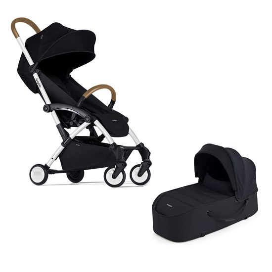 Bumprider Connect Barnvagn med liggdel White-Black