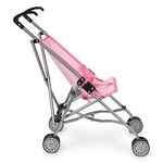 STOY Dolls Mini buggy stroller Pink on Pink