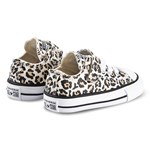 Converse Black Leopard Print Chuck Taylor All Star OX 1V Trainers
