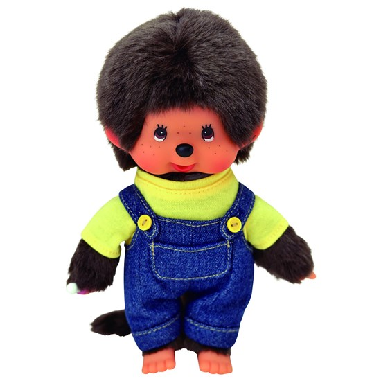 Monchhichi Overall Yellow Boy 20 cm