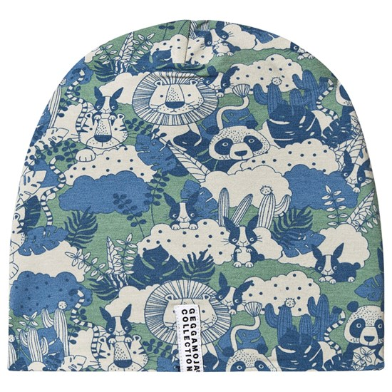 Geggamoja Fleece Cap Jungle