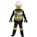 Lego Firefighter, Deluxe, Size S