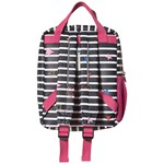 Joules Blue Adventure Stripe & Star Print Rubber Backpack